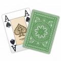 Jeu de 54 cartes Modiano format poker - Vert clair 2