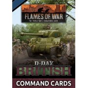Flames of War - D-Day British Command Cards