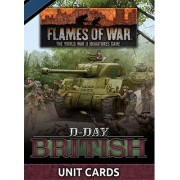 Flames of War - D-Day British Unit Cards