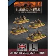 Flames of War - Airborne 75mm Light Troop