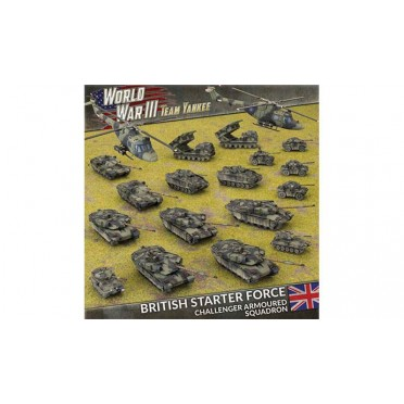 Team Yankee - British Starter Force - Challenger Armourd Squadron