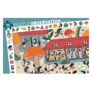 Puzzle Observation : L'Ecole des Hérissons – 35 Pièces