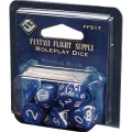 Roleplay Dice - Marble Blue 0