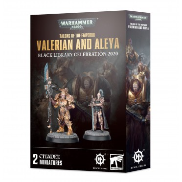 W40K : Black Library Celebration - Valerian et Aleya (2020)