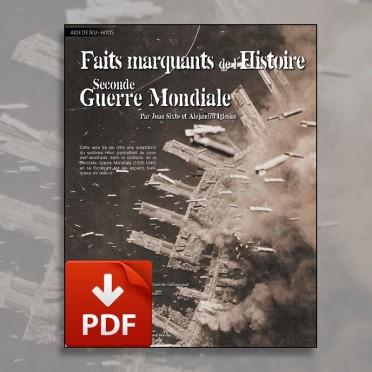 Hitos - Faits marquants de la 2nde Guerre Mondiale (PDF)