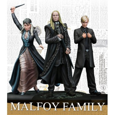 Harry Potter, Miniatures Adventure Game: Famille MalfoyHigh quality resin miniatures, ready to paint and assemble. Includes char
