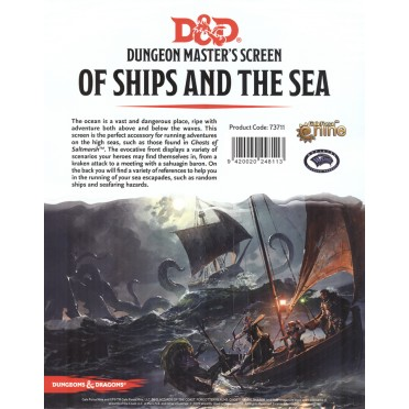 D&D DM Screen - Of Ships & The Sea