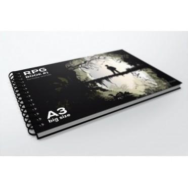 RPG Book A3 Square