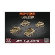 Flames of War - Stuart Recce Patrol