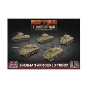 Flames of War - Sherman Armoured Troop
