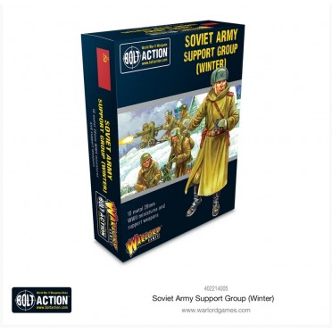 Bolt Action - Soviet - Soviet Army (Winter) Support Group