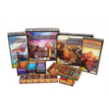 Insert 7 Wonders + All Expansions