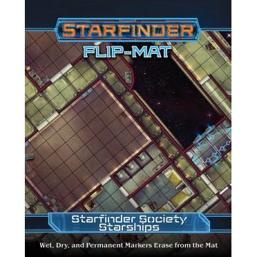 Starfinder Flip-Mat : Starfinder Society Starships