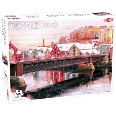 Puzzle - Nidelva in Trondheim - 1000 pièces