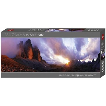 Puzzle - 3 Peaks Panoramique - 1000 pièces