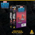 Marvel Crisis Protocol: Hawkeye & Black Widow 0