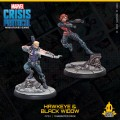 Marvel Crisis Protocol: Hawkeye & Black Widow 1