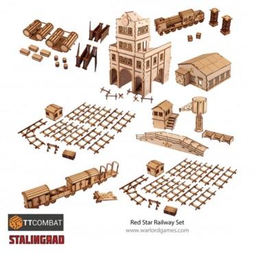 Stalingrad - Red Star Railway Set