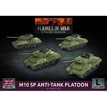 Flames of War - British - M10 SP Anti-tank Platoon