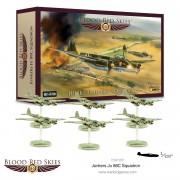 Blood Red Skies - German Junkers Ju 88C Squadron, 6 planes