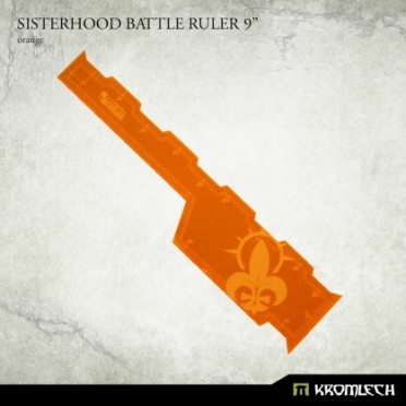 """Sisterhood Battle Ruler 9"""" [orange]"""