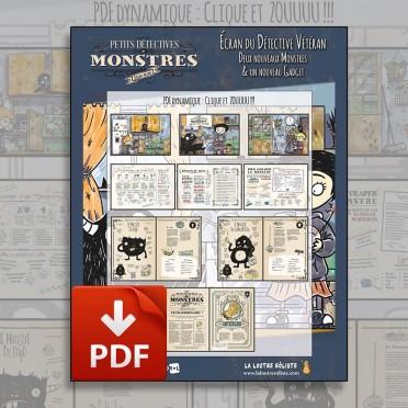 Petits Détectives de Monstres - Ecran du Détective Vétéran version PDF