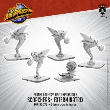 Monsterpocalypse - Destroyers - Scorchers & Exterminatrix
