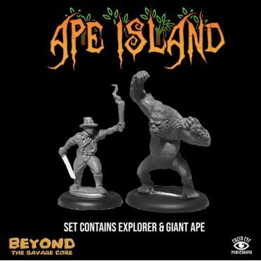 Beyond the Savage Core - Ape Island Set