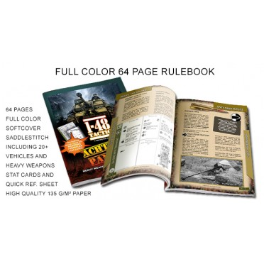 1-48 Tactic - Vehicles Rules Rulebook