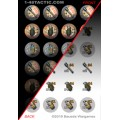 1-48 Tactic - 24 Grenade Markers Punchboard 0