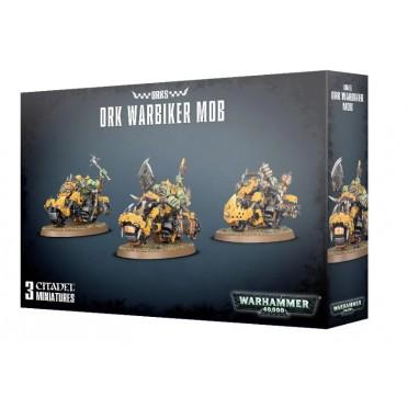 W40K : Orks - Warbikers Mob