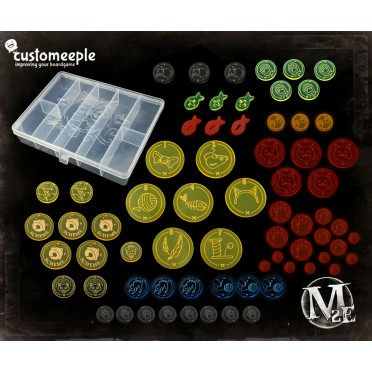 Malifaux 3E Deluxe Set with Box: The Guild
