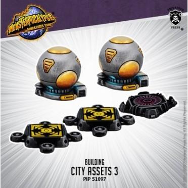 Monsterpocalypse - Buildings - City Assets 3