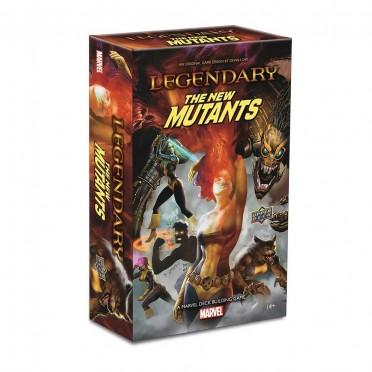 Legendary : New Mutants A Marvel Deck Building Game Expansion