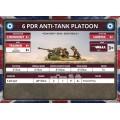 Flames of War - 6 Pdr Anti-Tank Platoon 6