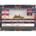 Flames of War - Vickers MMG Platoon 7