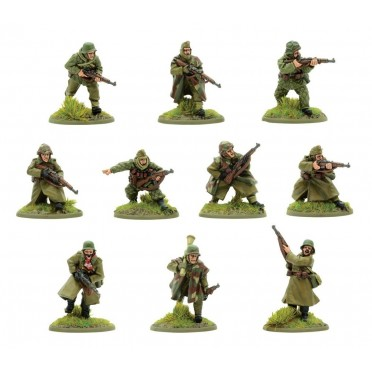 Bolt Action - Hungary - Hungarian Army Honved Division Section (Winter)