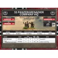 Flames of War - Armoured SS Panzergrenadier Company HQ 9