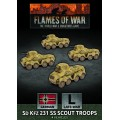 Flames of War - SdKfz 231 SS Scout Troops 0
