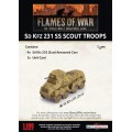 Flames of War - SdKfz 231 SS Scout Troops 1