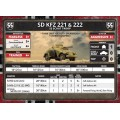 Flames of War - SdKfz 221 and 222 SS Scout Troop 5