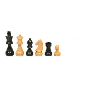 Pièces échecs staunton buis/ébène taille 5