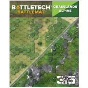 BattleTech Battle Mat Grasslands Alpine