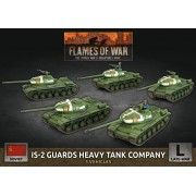 Flames of War - IS-2 Guards Heavy Tank Company