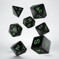 Classic Runic Black & green Dice Set (7) 0