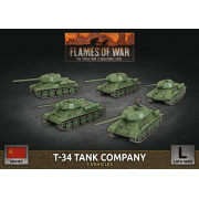 Flames of War - T-34 Tank Company