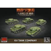 Flames of War - KV Tank Company