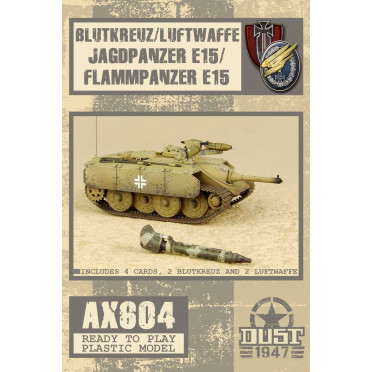 Dust - E15 Jagdpanzer/Flammpanzer