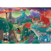 Puzzle - Les Dragons - 50 pièces