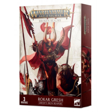 Age of Sigmar : Broken Realms - Gresh's Iron Reapers